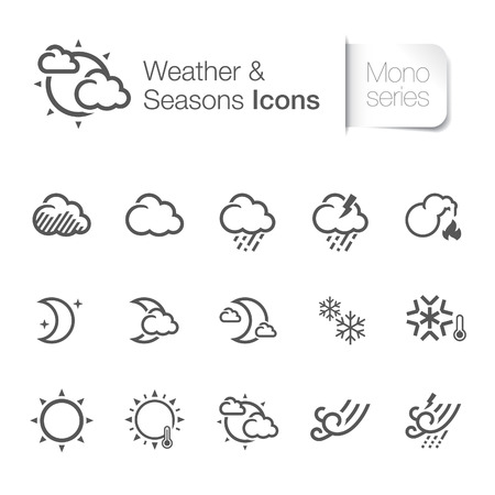 Weather   seasons related icons