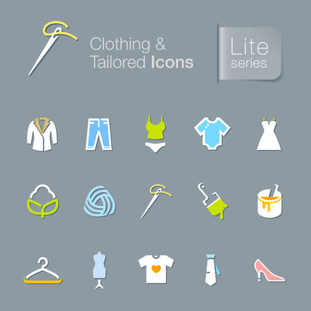 tailored: Clothing related icons
