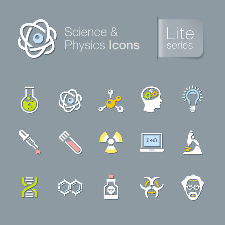 Science   physics related icons