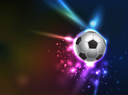 Dramatic soccer graphic background  come with layers
