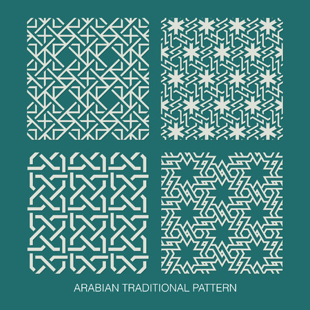 aidilfitri: Traditional Arabian pattern