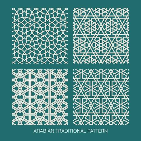 calligraphie: Modèle traditionnel arabe