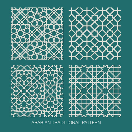 in islamic art: Traditional Arabian pattern