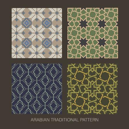 Traditional Arabian pattern  Vector