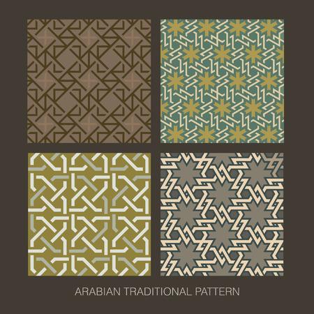 Traditional Arabian pattern