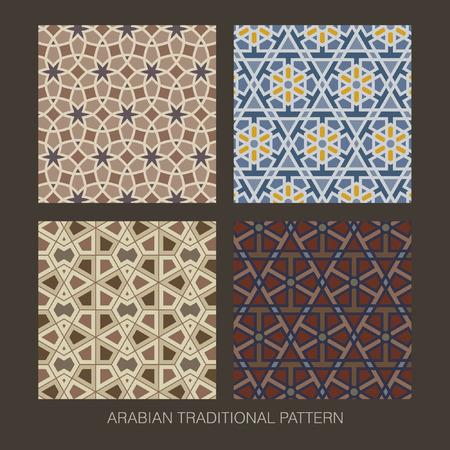 eid mubarak: Traditional Arabian pattern