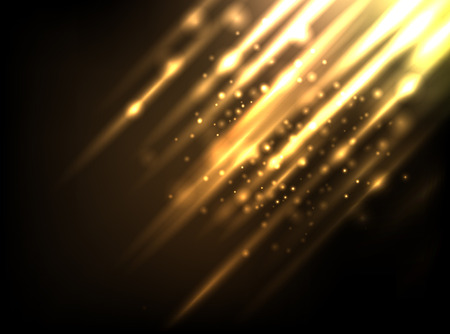 gold design: Abstract background Illustration