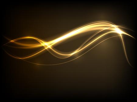 oro: Fondo abstracto Vectores