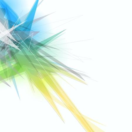 fractal design element or art background: Abstract background Illustration
