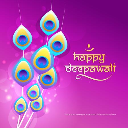 Deepawali grafisch ontwerp Vector Illustratie