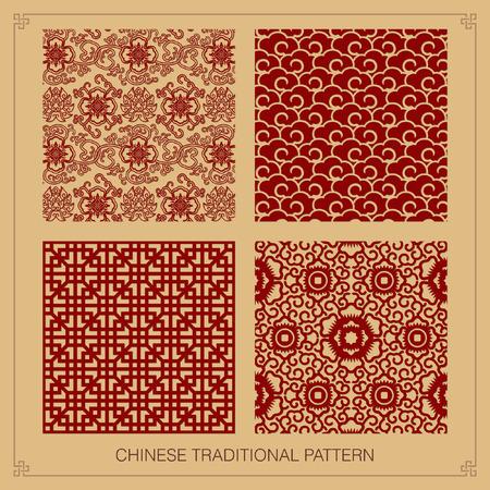 orientalische muster: Vintage chinesische Muster.
