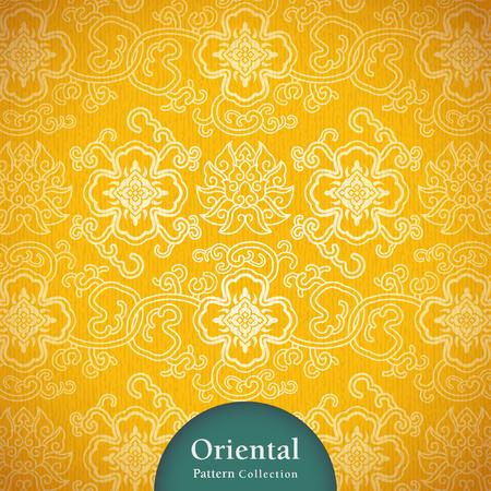 Classy oriental pattern.