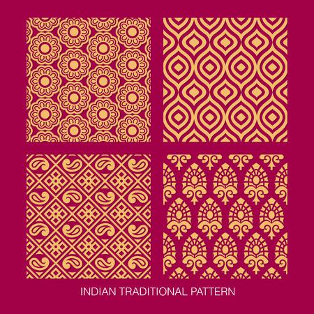 motif indiens: Collection de mod�le indien.