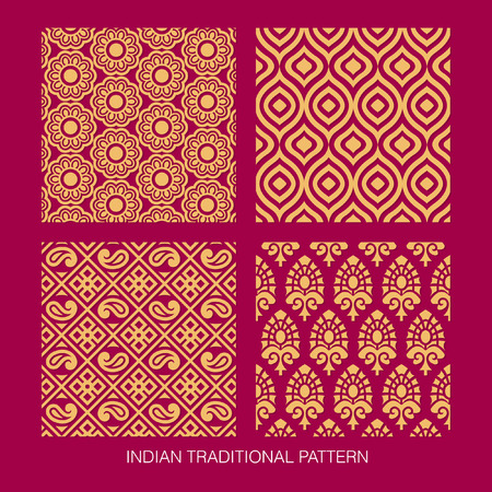 Indian pattern collection.  Illustration