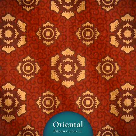 Classy oriental pattern. come with layers. Vector