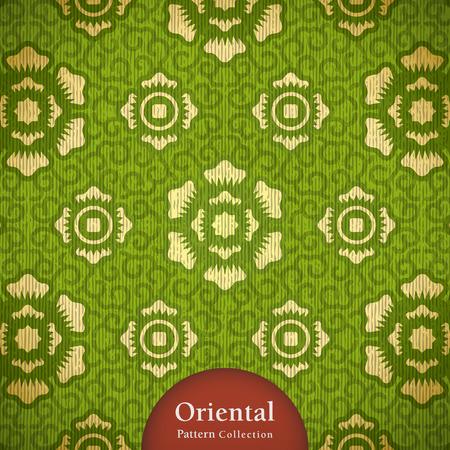 orientalische muster: Classy orientalischen Muster. kommen mit Ebenen.