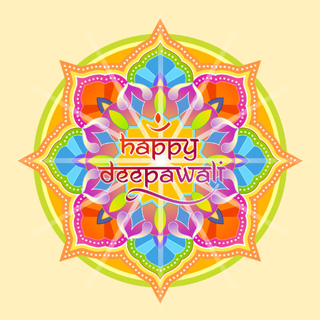 rangoli: Deepawali graphic design