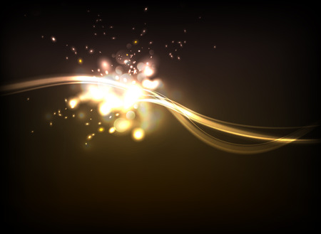Generic lighting effect background  イラスト・ベクター素材