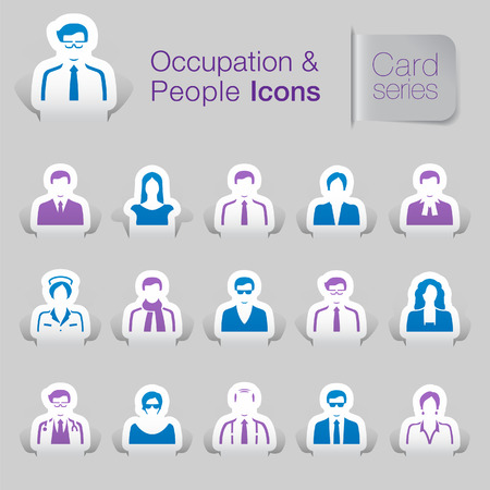 Occupation & people related icons