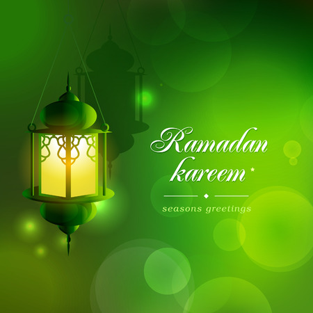 Ramadan background.  Ramadan Kareem literally means fasting month.