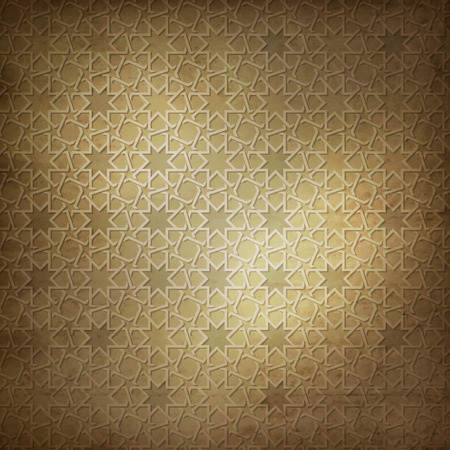 Arabic pattern background Ilustrace