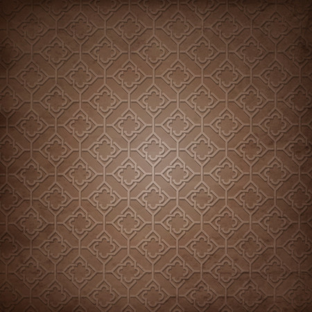 Arabic pattern background Ilustracja