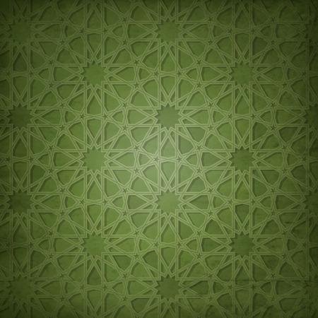 아랍어 패턴 배경 일러스트