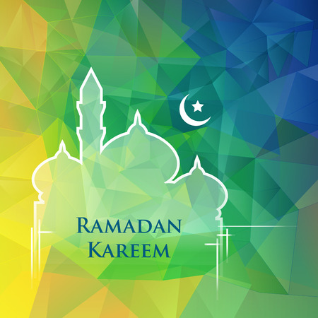 ramadan background: Ramadan Kareem literally means fasting month.
