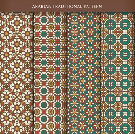 Traditional arabic pattern