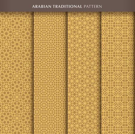traditional pattern: Traditional arabian pattern Illustration
