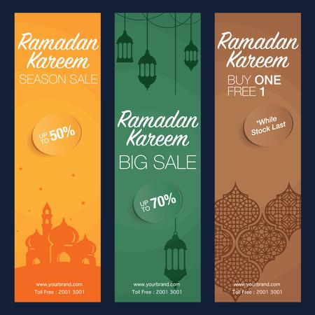Ramadan banner design