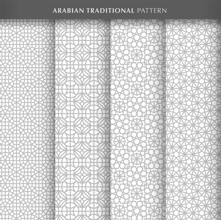 Arabian pattern design collections