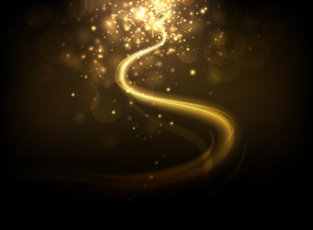Eleganter Beleuchtungshintergrund Vektorgrafik