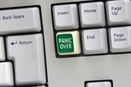 Panic Over button on computer keyboard