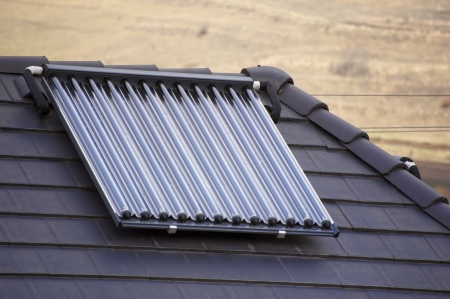 �kologischen Vakuum Solar-R�hrenkollektoren