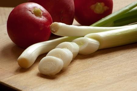 detoxification: fresh vegetable prepared for spring detoxification Stock Photo