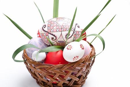 Happy Easter Traditionen in der Fr�hjahrssaison Lizenzfreie Bilder