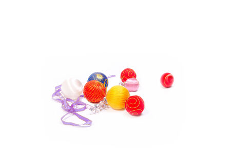 upcoming: Colored ornaments for the Christmas time upcoming