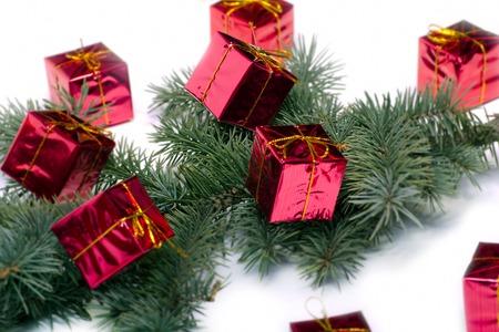 Farbige Verzierungen f�r die kommenden Weihnachtszeit