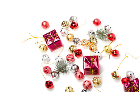 Farbige Ornamente f�r die kommenden Weihnachtszeit