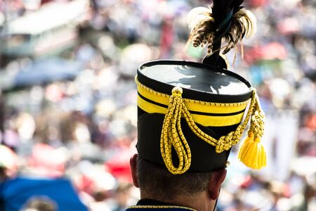 military hat from the history of Hungary Stock Photo