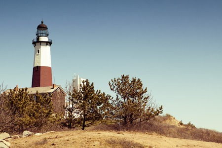 montauk: Big Sable Point Lighthouse located in Montauk, in USA