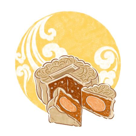 mooncake festival: moon cake