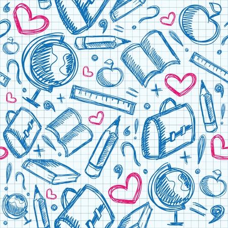 exercisebook: school seamless(0).jpg Illustration