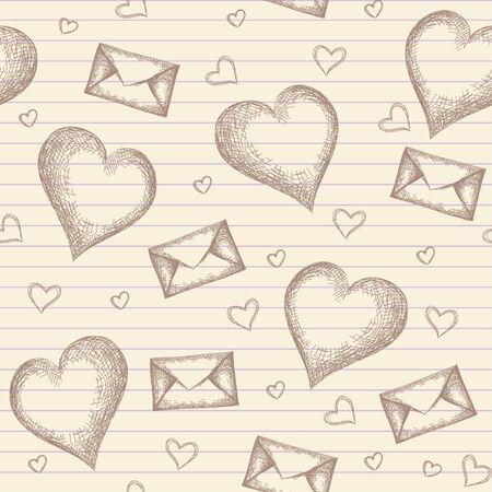 old envelope: vintage pattern(0).jpg Illustration