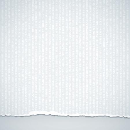 Weißes Papier Standard-Bild - 18161715