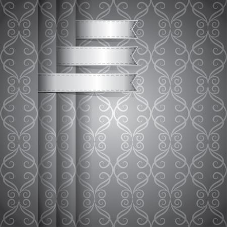platinum style: vintage background