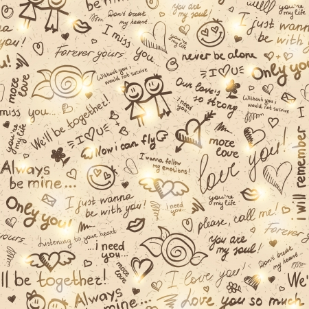 hand drawn pattern Stock Vector - 18406541