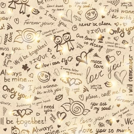 hand drawn pattern Stock Vector - 18406541