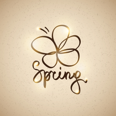 spring illustration, vector eps 10 Vector